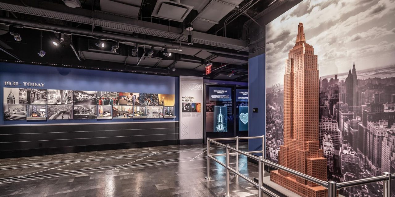 Empire State Building Unveils New Exhibits, New York