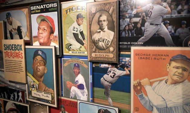 Baseball Shrine Spotlights Card Collecting, New York
