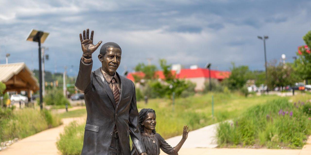 Obama Statue Unveiled in Rapid City, South Dakota