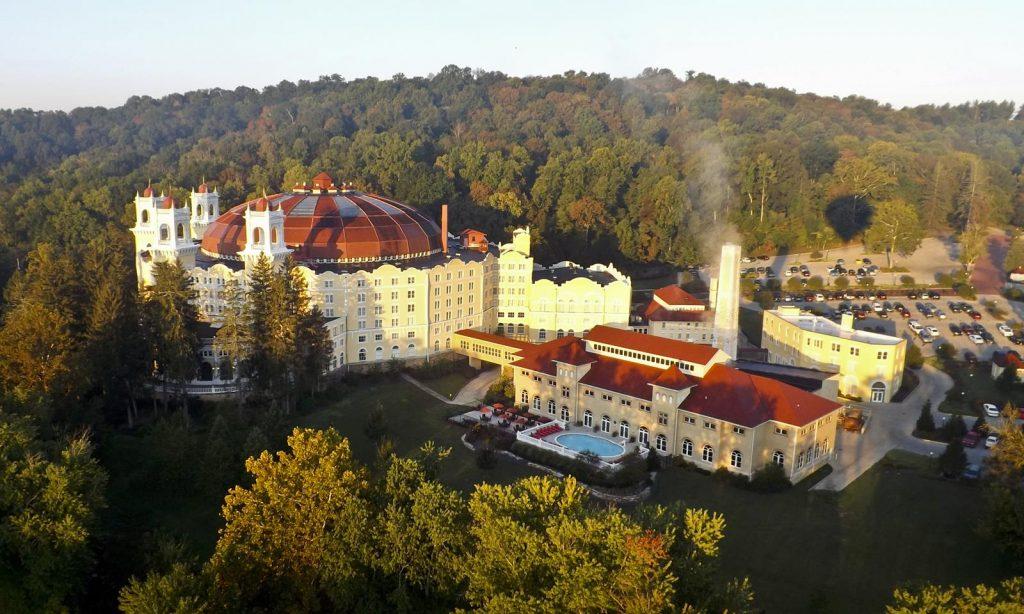 West Baden Exterior - french lick resort