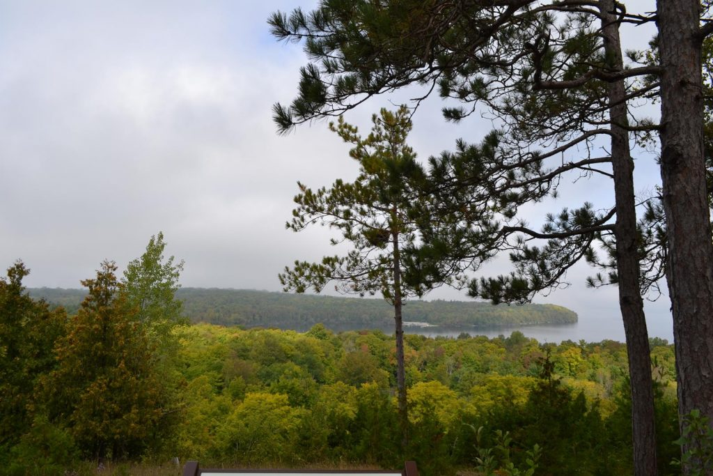 Peninsula State Park offers breathtaking views of nature