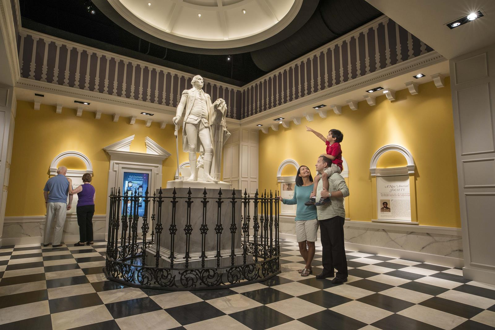 American Revolution Museum at Yorktown- The New Nation Gallery