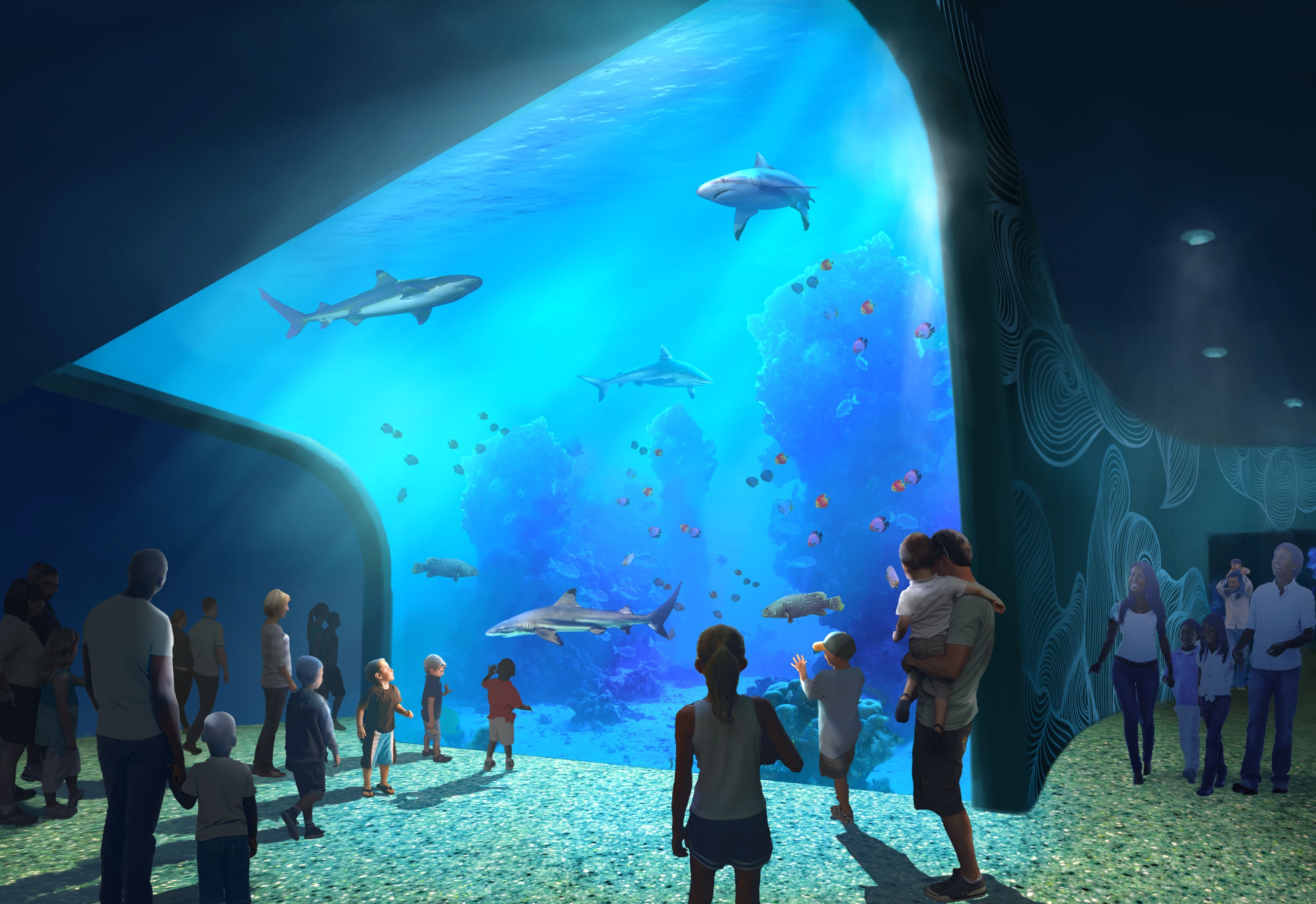 New Aquarium Rendering 75976_Stl_Aq_Shark