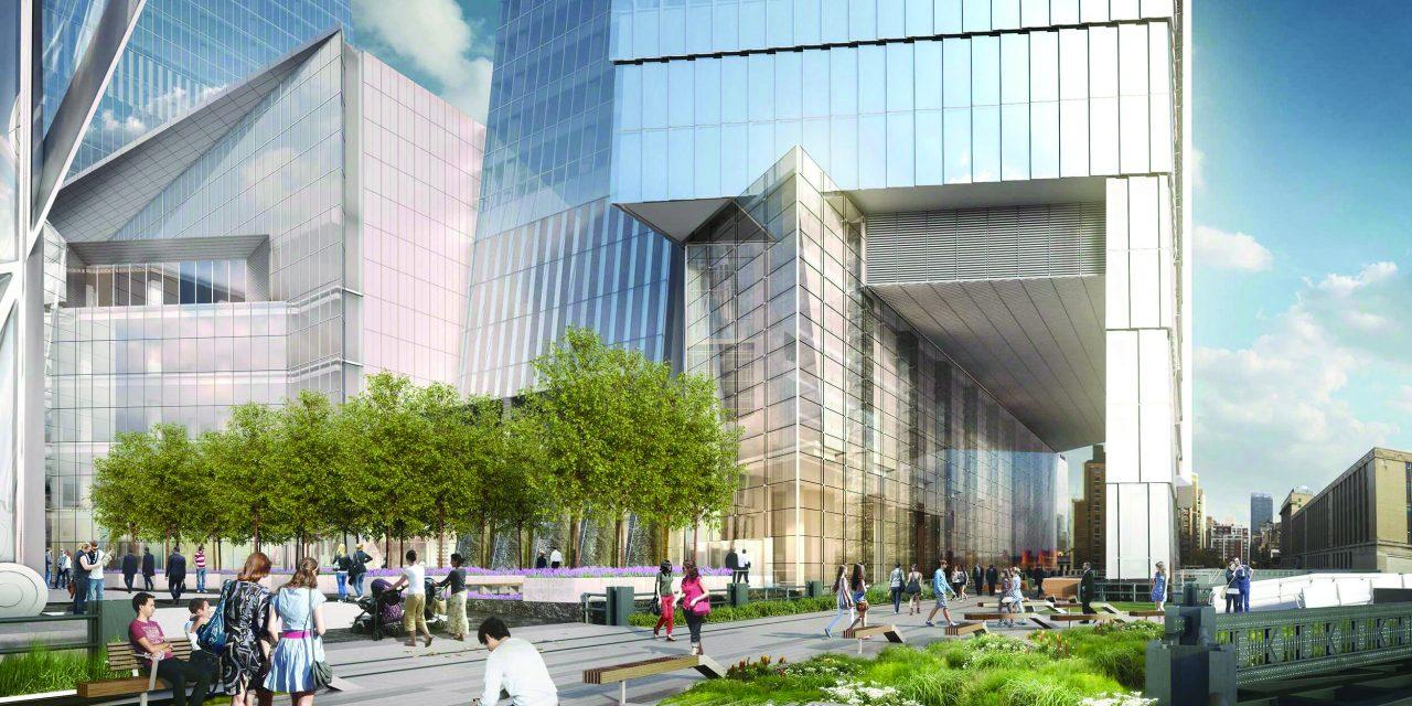Hudson Yards Opens in New York City, New York