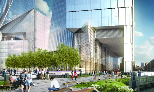 Hudson Yards Opens in New York City, New York