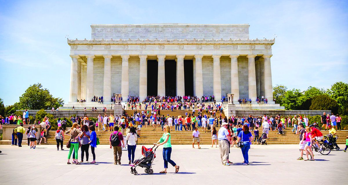 Washington Monument Reopens, District of Columbia