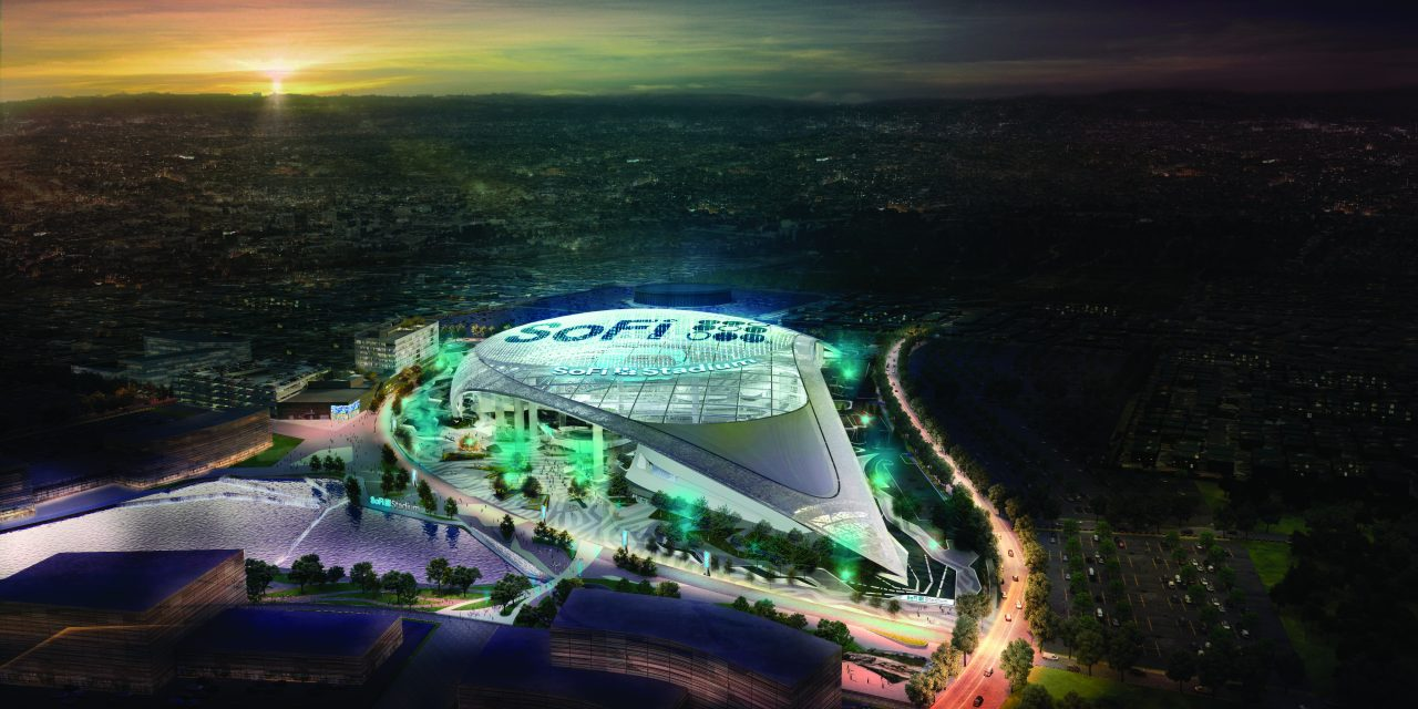 New Football Stadium to Open in 2020, California