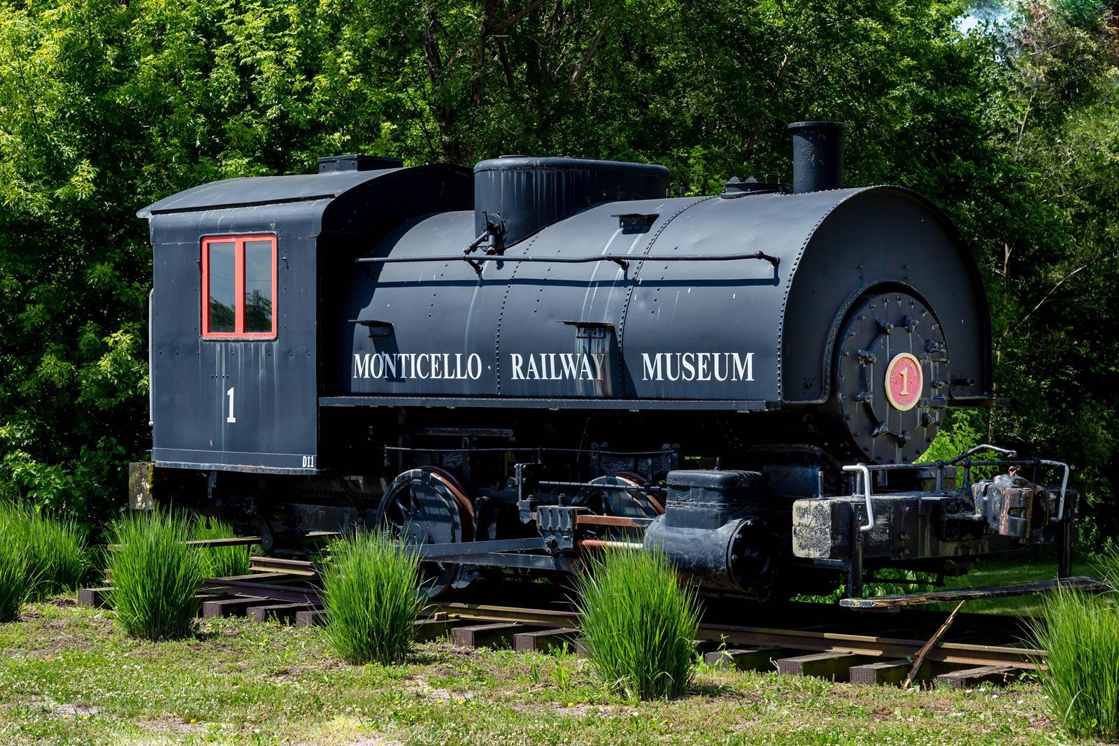 Monticello Railway Train