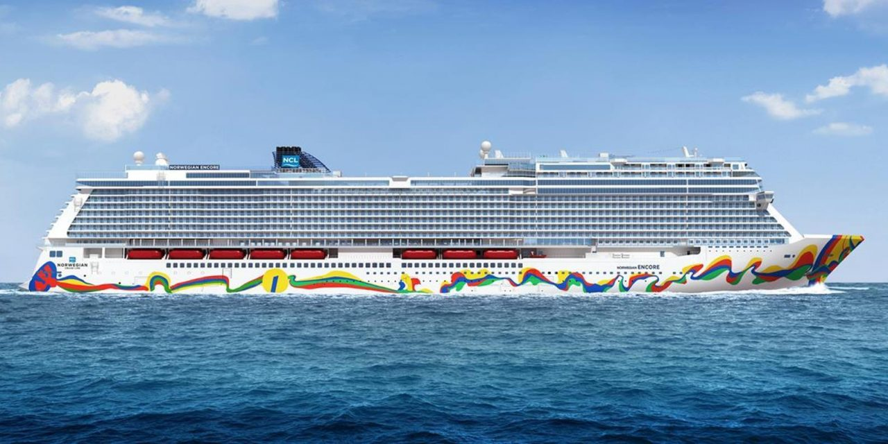 Norwegian Encore Makes Her Debut