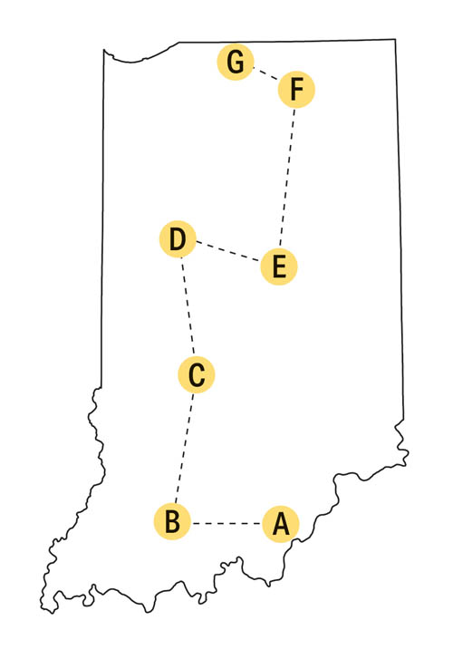 indiana cultinary trail