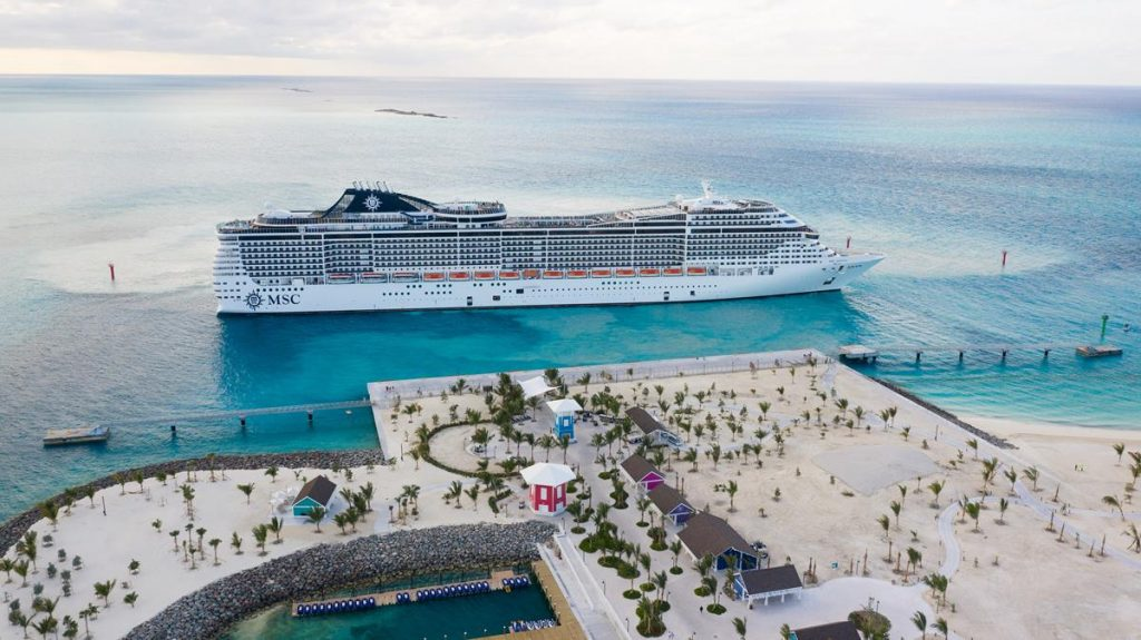 MSC_OceanCay_credit AP Images for MSC Cruises