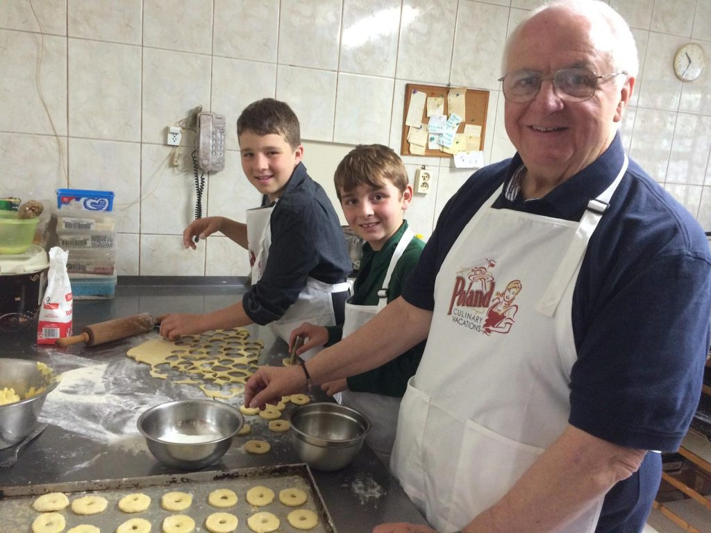 Enjoying multigenerational cooking experiences on a Poland Culinary Vacations family trip 2 Photo Credit Poland Culinary Vacations, Inc.