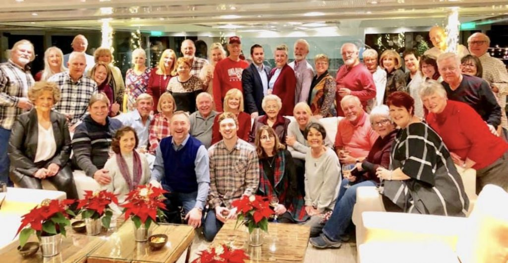 Group Christmas on the Daube 2019