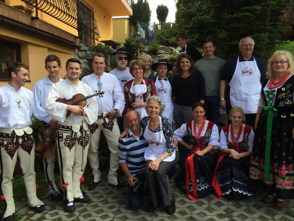 Multiple generations learn about Polish culture and cuisine on a Poland Culinary Vacations trip Photo Credit Poland Culinary Vacations Inc.
