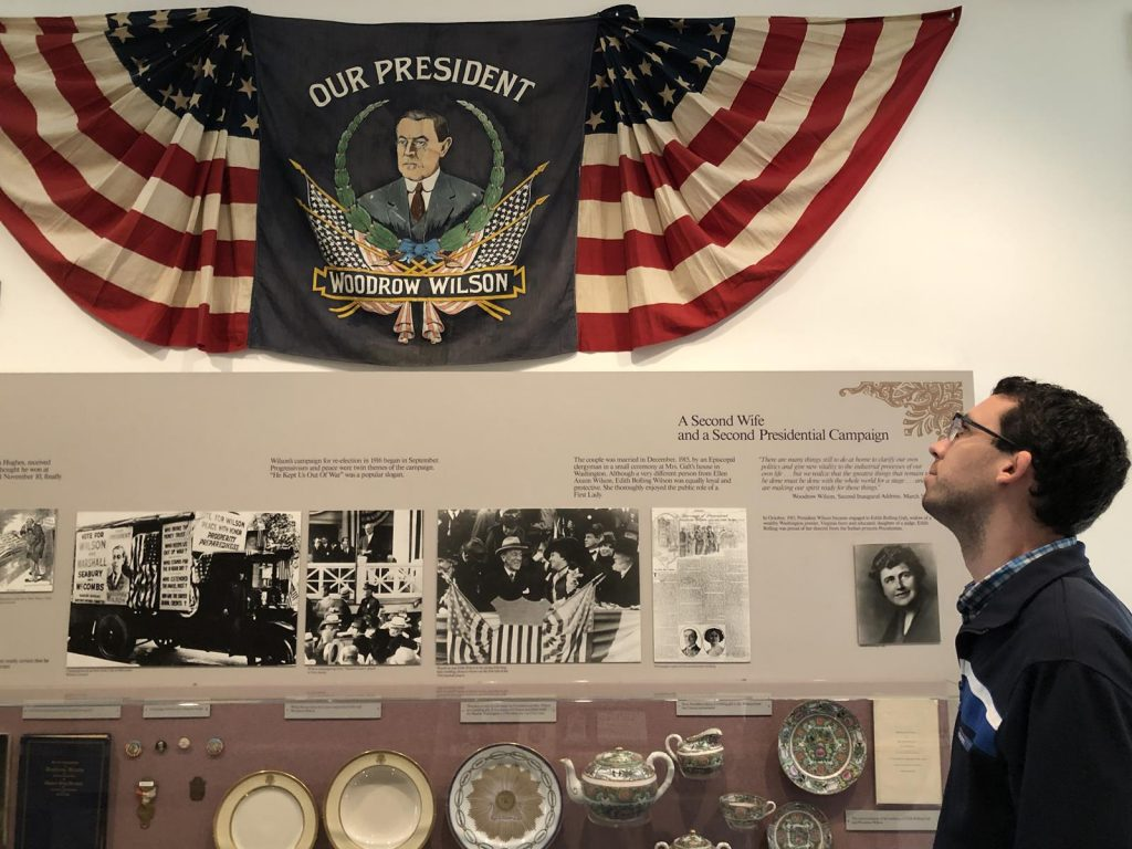 Woodrow Wilson Presidential Library & Museum. (Randy Mink Photo)