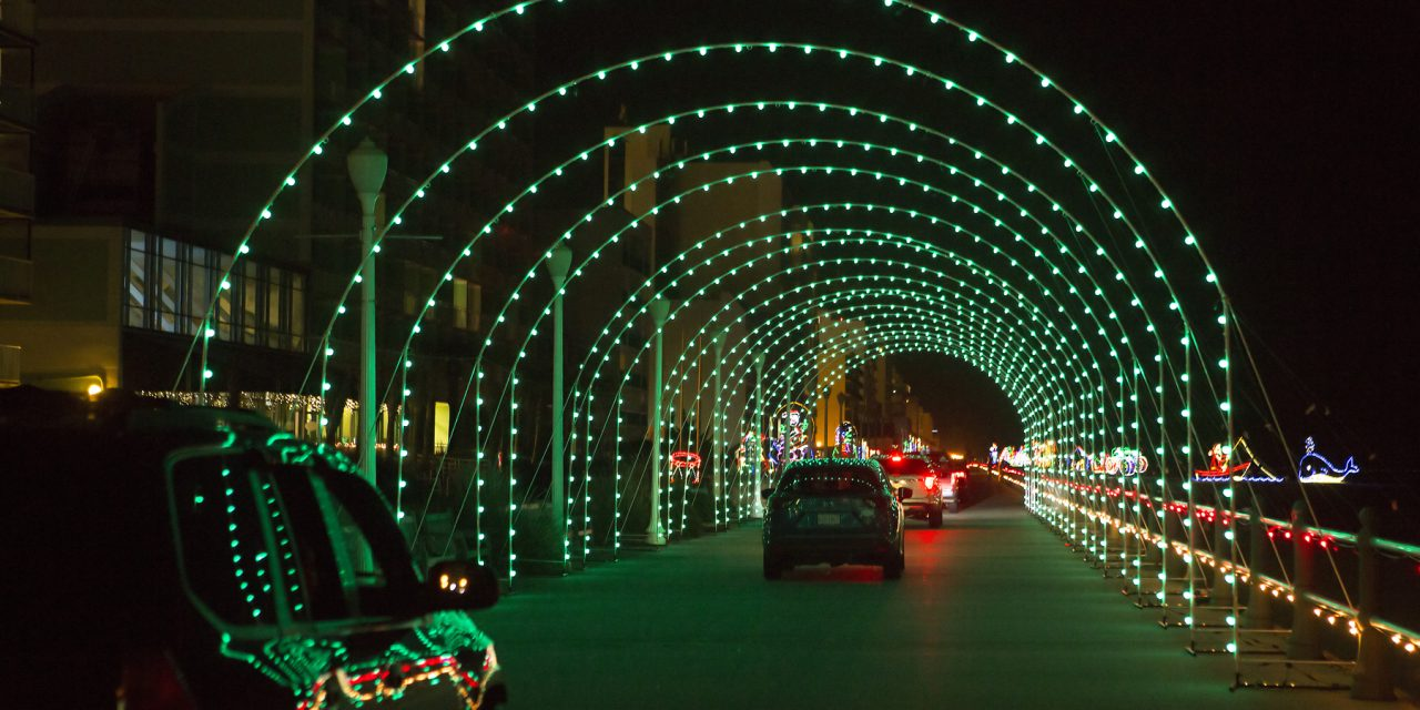 The Season of Lights in Virginia Beach