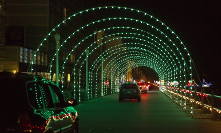 The Season of Lights in Virginia Beach