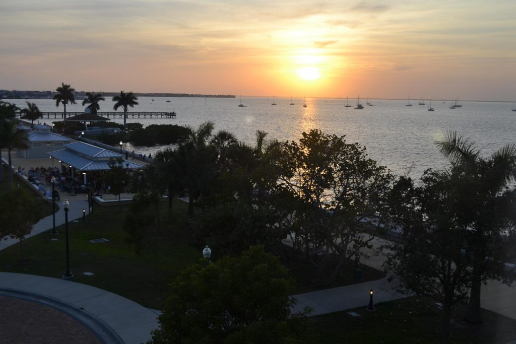 Port Charlotte features walking paths along the water, boating and great fishing.