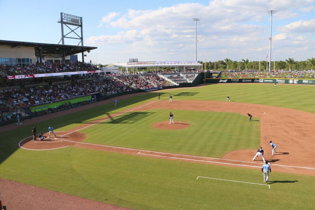 Ed Smith Stadium is where the Baltimore Orioles hold spring training Photo by Adam Cellini, Visit Sarasota County