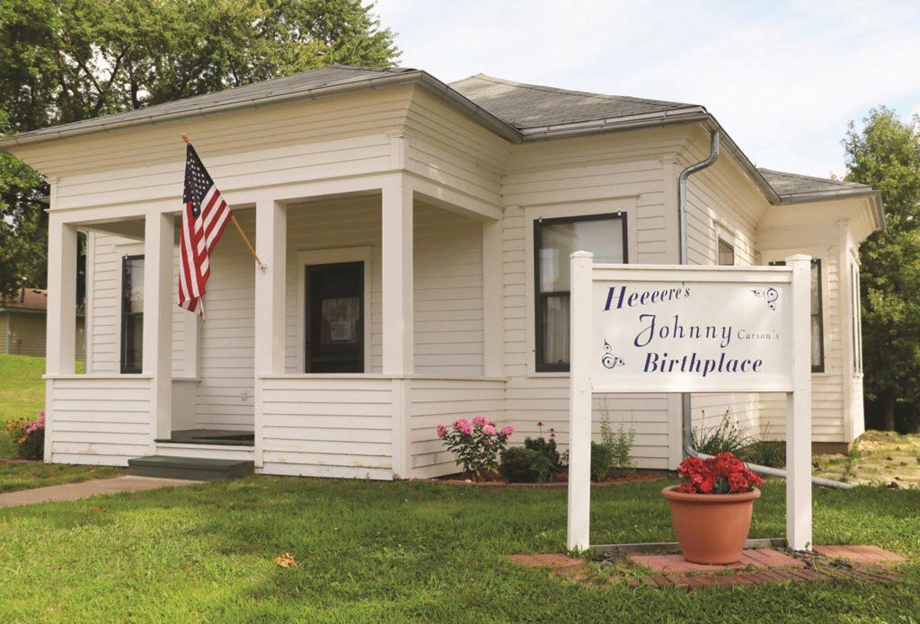Johnny Carson's Birthplace, Corning