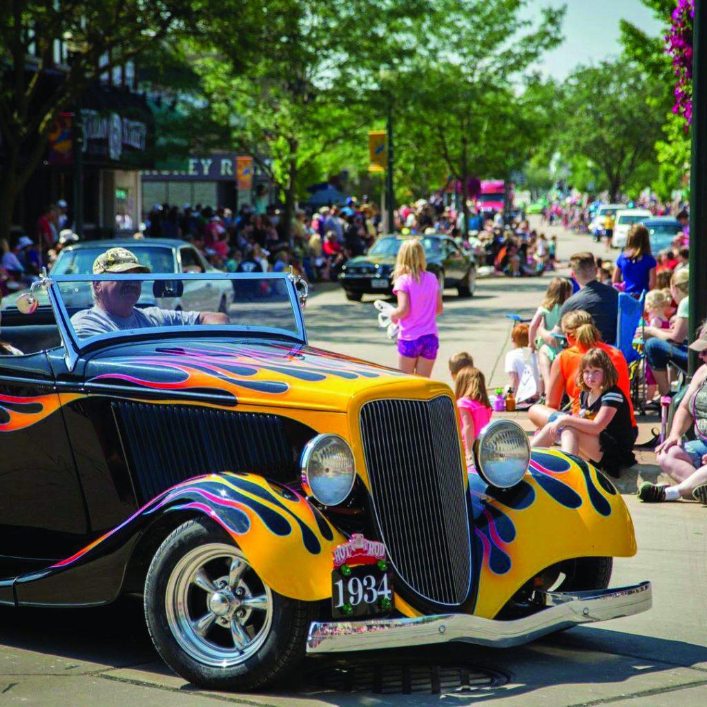 Sturgis Falls Celebration, Cedar Falls