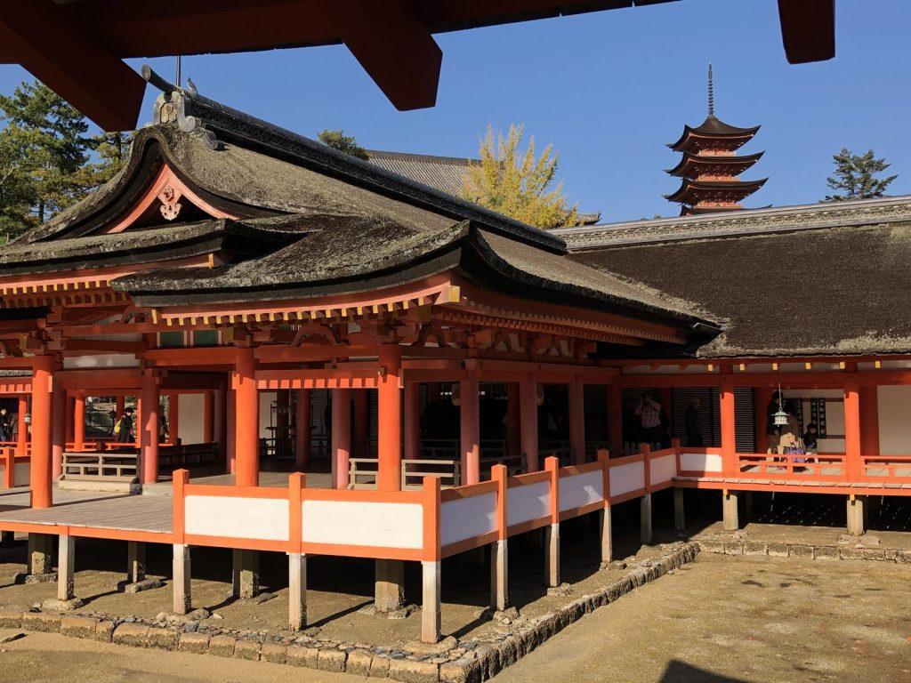 Miyajima Shrine and Pagoda