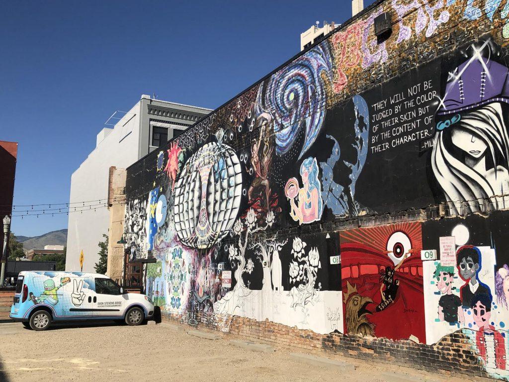 Freak Alley - Boise Idaho