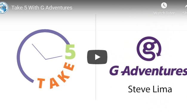 Steve Lima from G Adventures