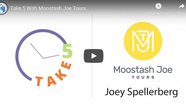 Joey Spellerberg of Moostash Joe Tours