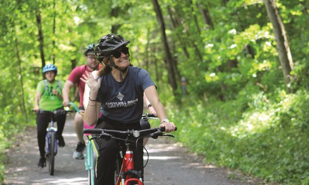 Seeing the East Coast from the Serenity of a Bike Trail