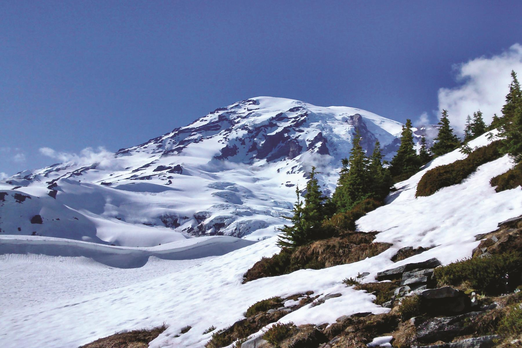 Mount Rainier - national park