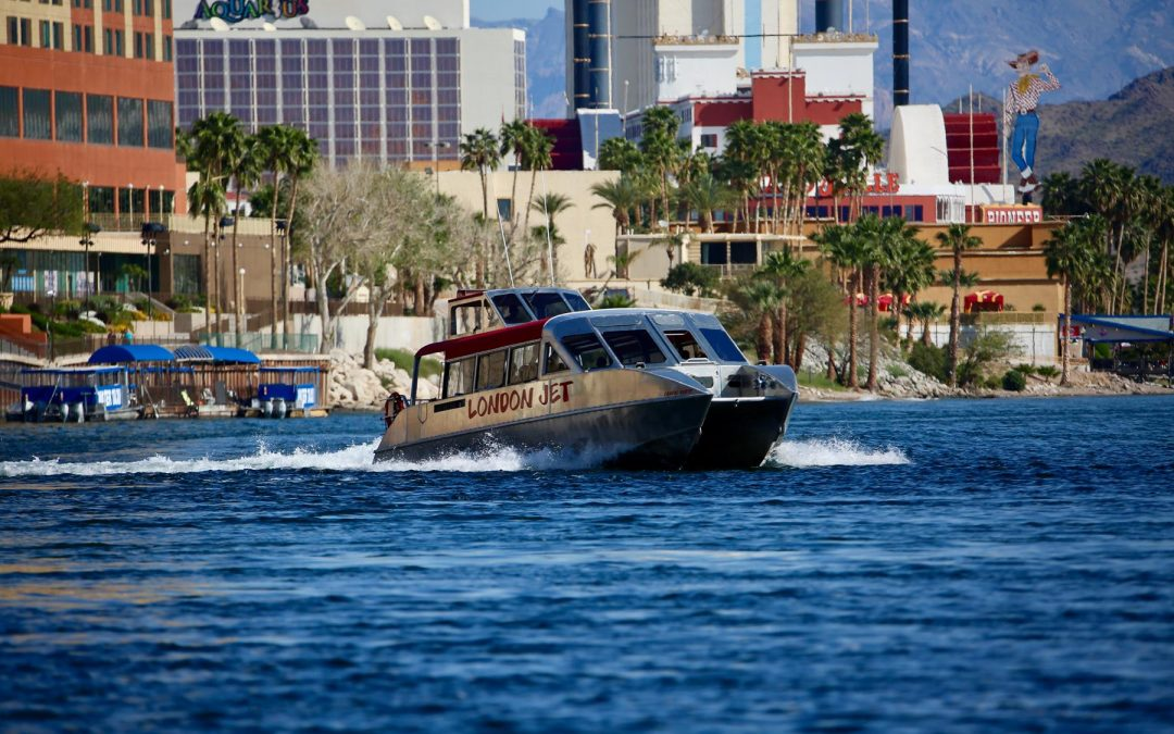 Laughlin Jet Boat casino skyline