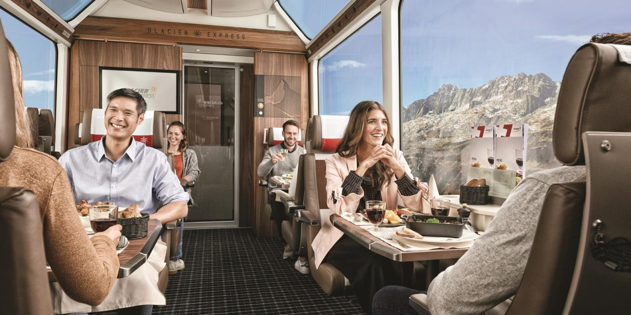 Switzerland Train Routes Provide the Best Scenery in Europe