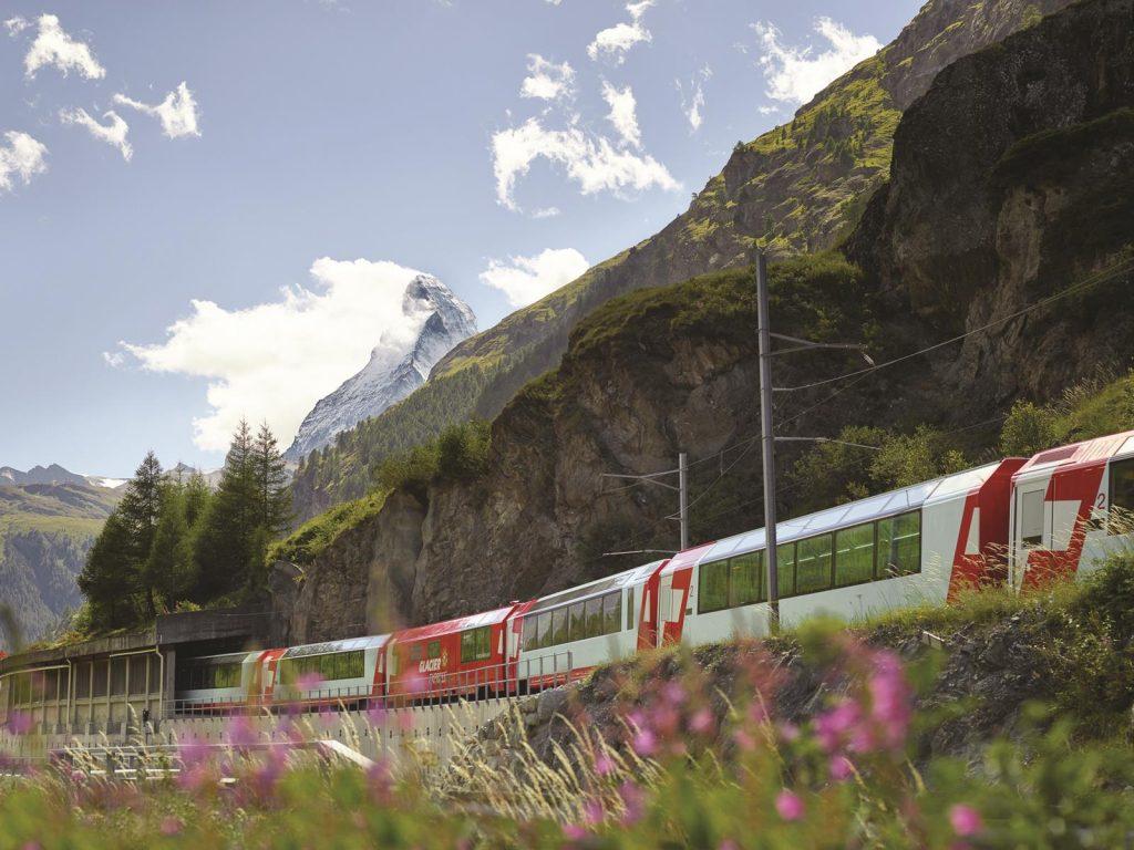 @Glacier Express-switzerland train routes