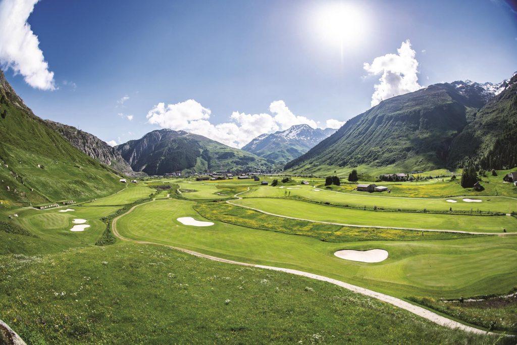 Andermatt Swiss Alps Golf Course Andermatt