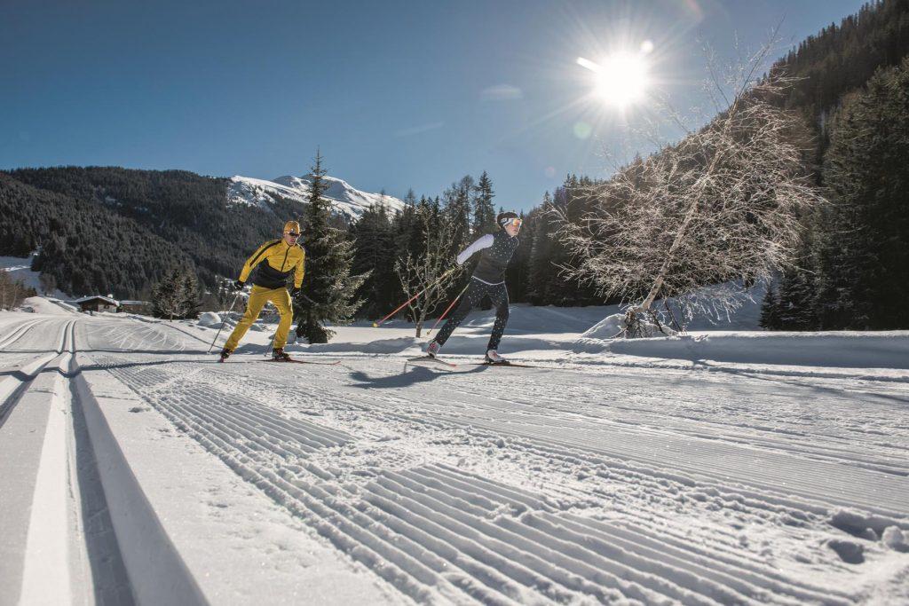 Langlauf in Davos