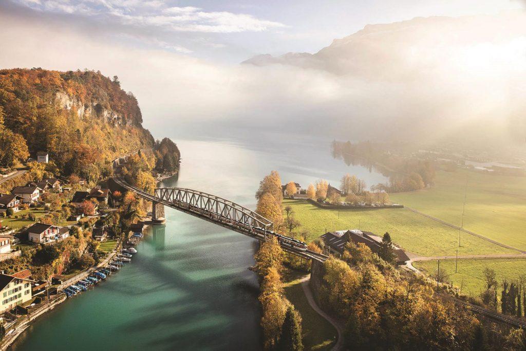 Interlaken_Aarebruecke - switzerland train routes