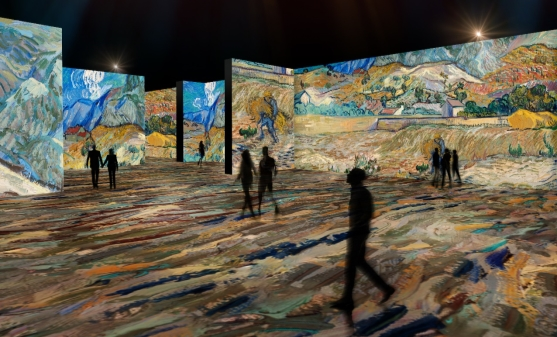 Indianapolis Museum to Debut Digital Art Gallery on a Grand Scale