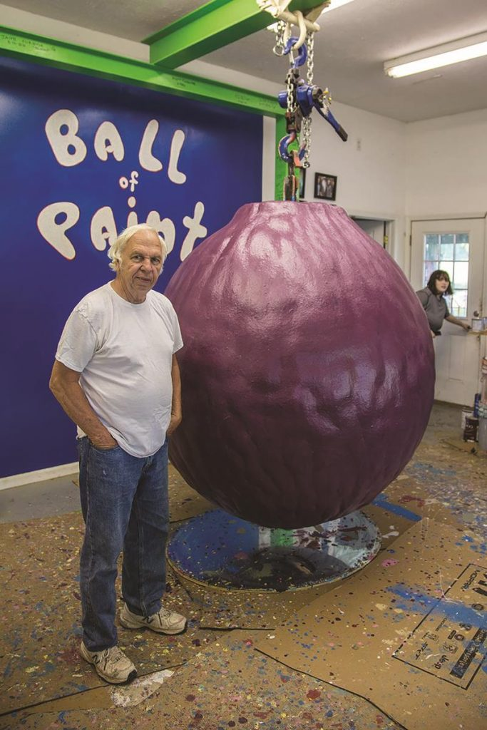 World's Largest Ball of Paint
