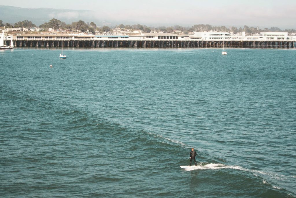 Santa Cruz County is home to lovely bodies of water.