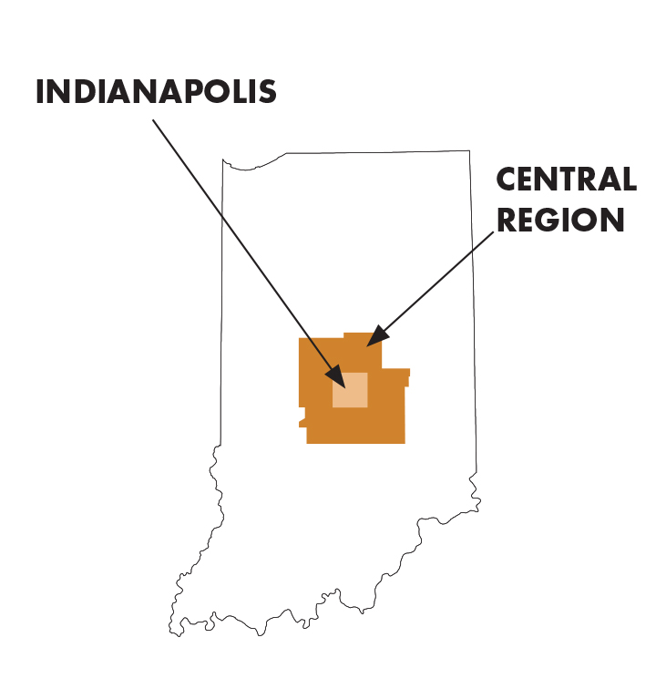 central indiana itinerary