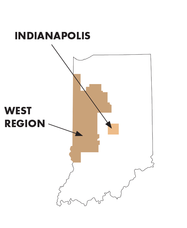 west indiana itinerary