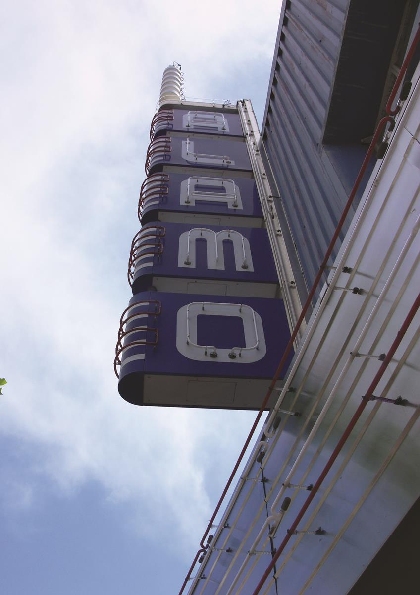 Alamo Theater Sign