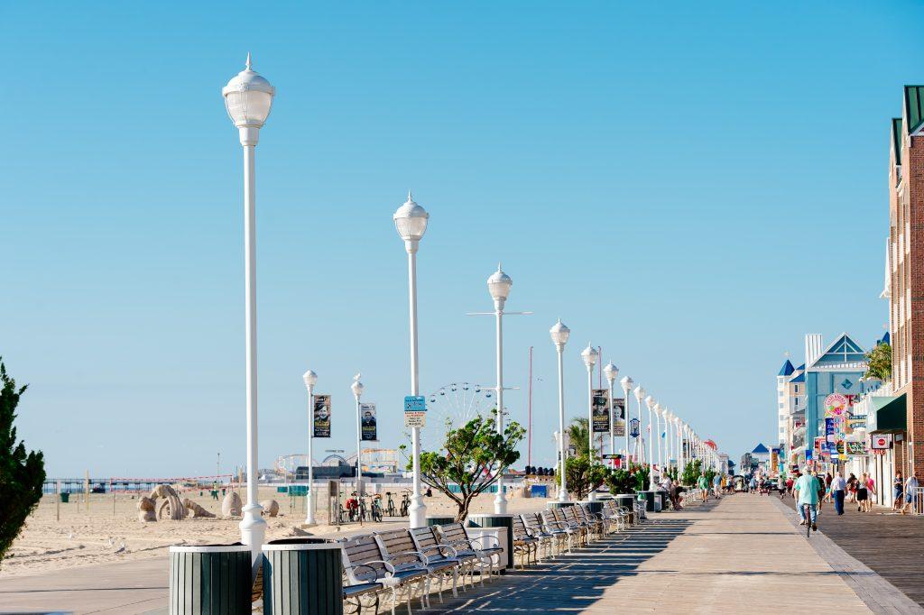 Ocean City Boardwalk. Credit Rachel Smith