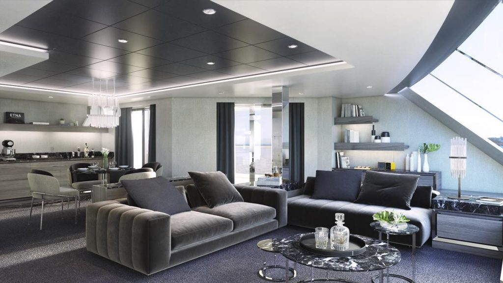 MSC YACHT CLUB OWNER'S SUITE LIVING AREA (Copy)