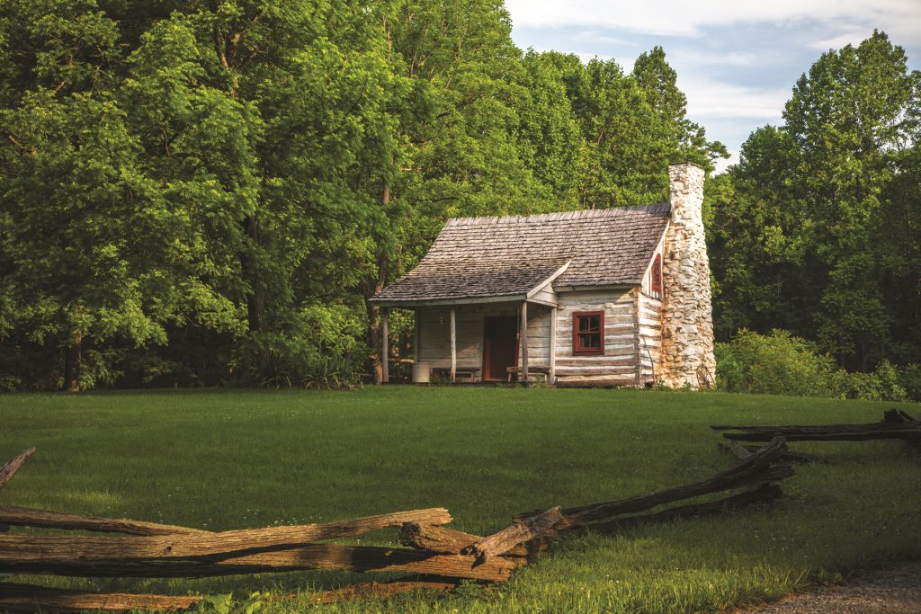 home of George Gilmore, born a slave at Montpelier