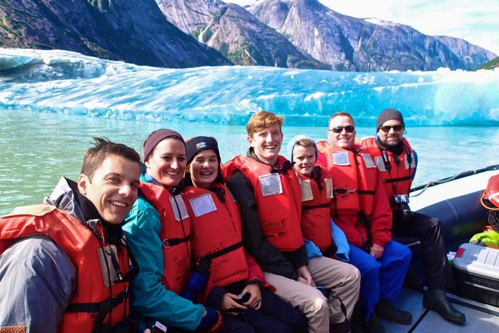Family Cruising Alaska Family On Cruise Skiff Photo Credit UnCruise Adventures