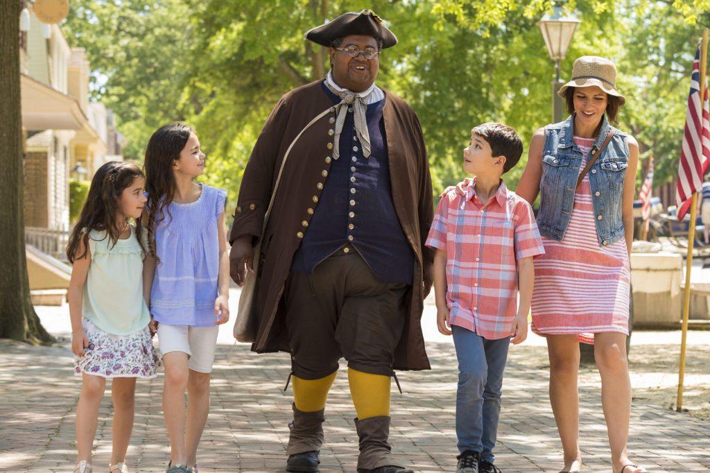 Colonial Williamsburg's Historic Area