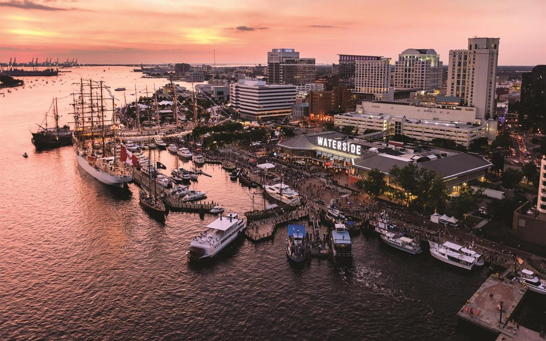 Harborfest photo of Downtown Norfolk skyline. Credit- VisitNorfolk (1)