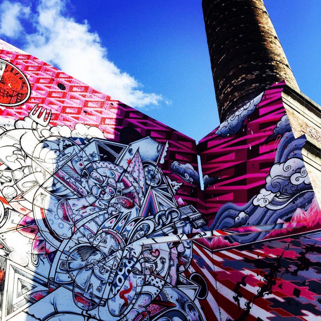 Mana Contemporary Mural